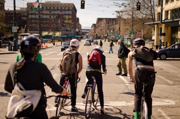 international district on bikes