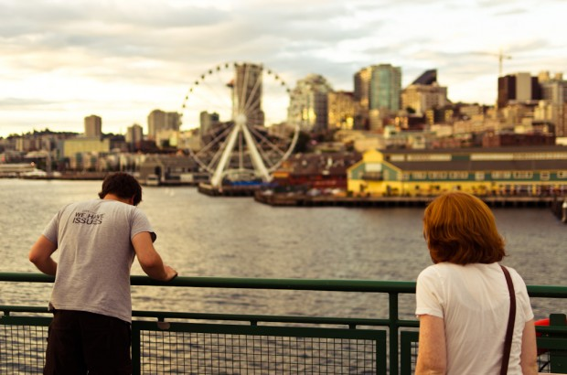 taking the seattle ferry